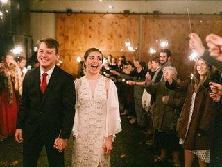 The wedding of J T and Lauren 1