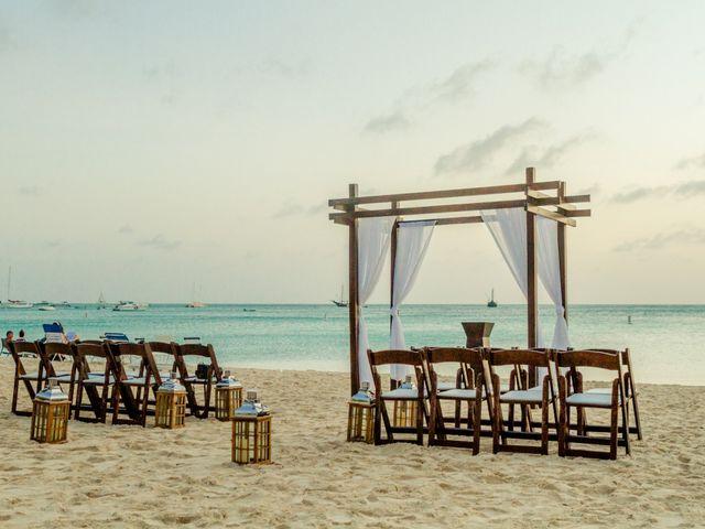 Ricky and Samantha's Wedding in Oranjestad, Aruba 14