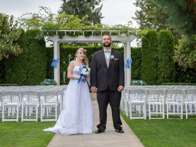 The wedding of Becca and Adam