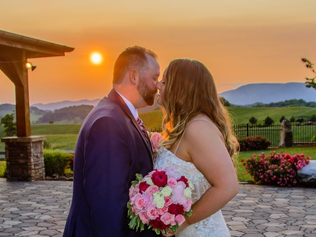 The wedding of Kendrea and Andrew Hensley