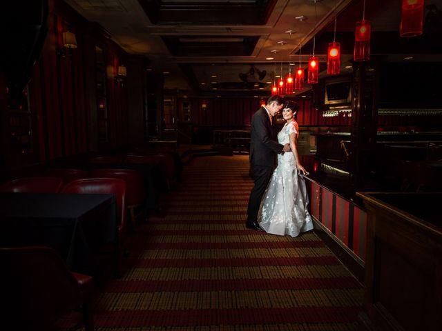 The wedding of Joanna and John