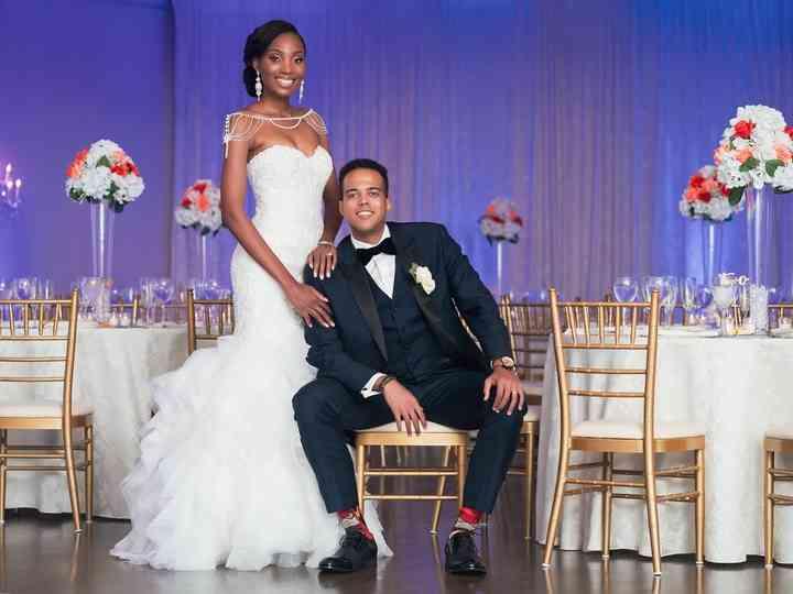 The wedding of Cynthia and Gabe