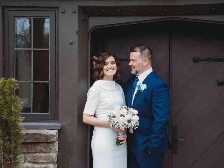 The wedding of Lauren and Chris