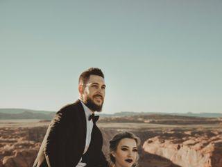 Robert and Jill's Wedding in Page, Arizona 4