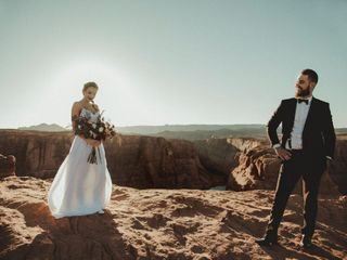 Robert and Jill's Wedding in Page, Arizona 3