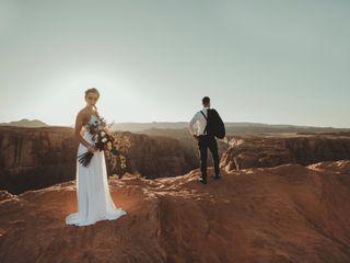 Robert and Jill's Wedding in Page, Arizona 7