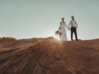 Robert and Jill's Wedding in Page, Arizona 8