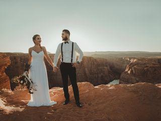 Robert and Jill's Wedding in Page, Arizona 9