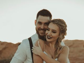 Robert and Jill's Wedding in Page, Arizona 10