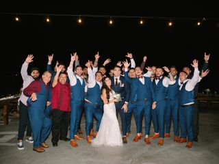 The wedding of Stephanie and Andres 3