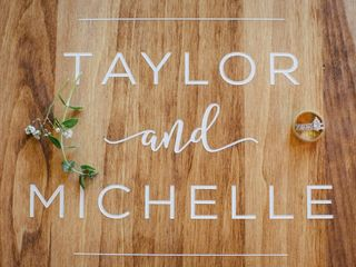 The wedding of Michelle and Taylor 1