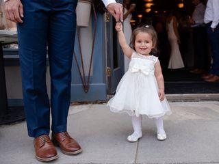 The wedding of Lauren and Vince 1