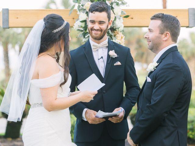 Max and Lynn's Wedding in Palm Coast, Florida 43