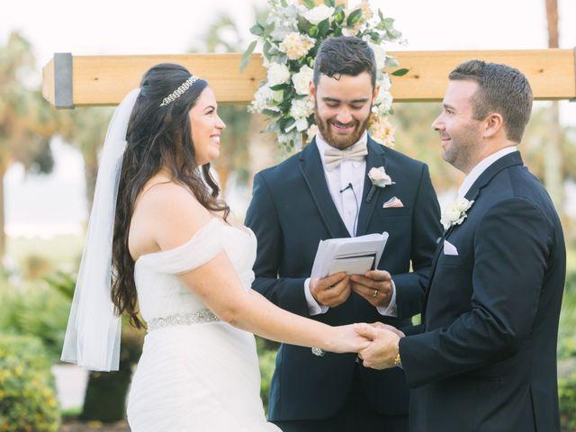 Max and Lynn's Wedding in Palm Coast, Florida 45