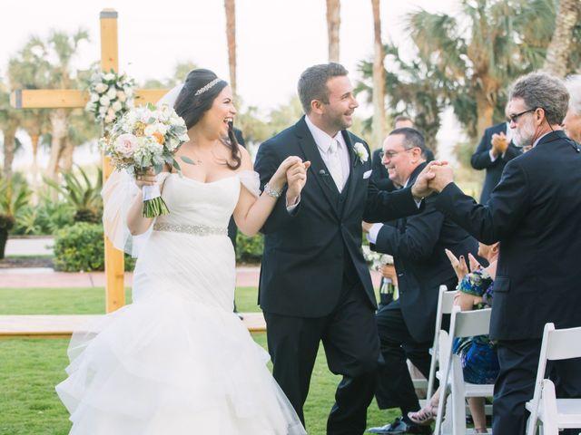 Max and Lynn's Wedding in Palm Coast, Florida 49