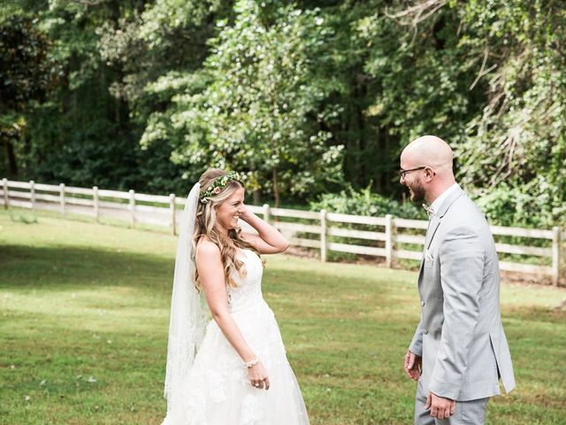 Ryan and Courtney's Wedding in Huntingtown, Maryland 11