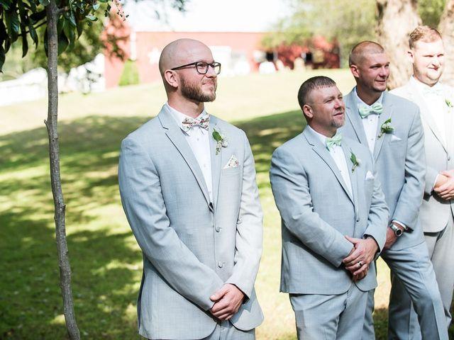 Ryan and Courtney's Wedding in Huntingtown, Maryland 14