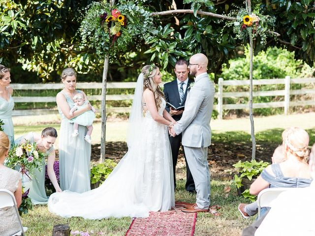 Ryan and Courtney's Wedding in Huntingtown, Maryland 15