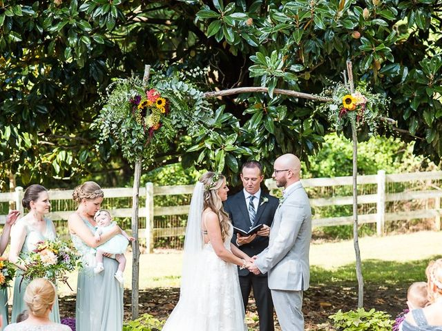 Ryan and Courtney's Wedding in Huntingtown, Maryland 20