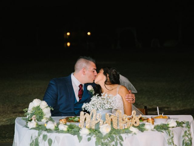 The wedding of Stephanie and Andres