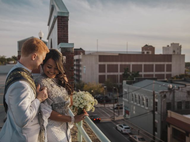 The wedding of Montana and Alex