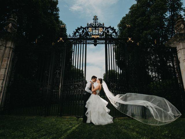 The wedding of Alexa and Freddy