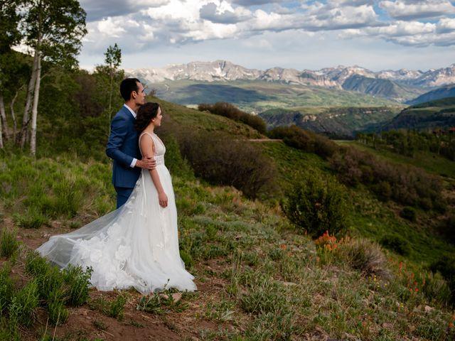 Vince and Lauren's Wedding in Telluride, Colorado 10