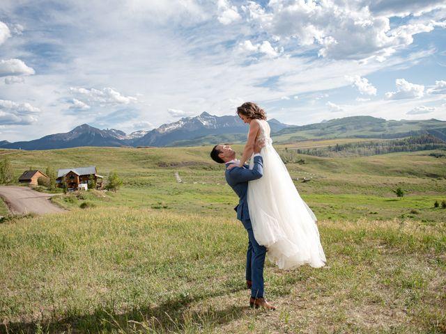 Vince and Lauren's Wedding in Telluride, Colorado 32