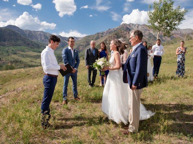 Vince and Lauren's Wedding in Telluride, Colorado 45