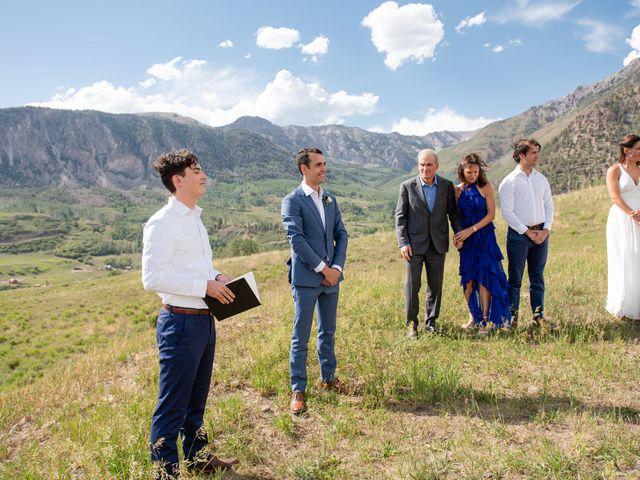 Vince and Lauren's Wedding in Telluride, Colorado 46