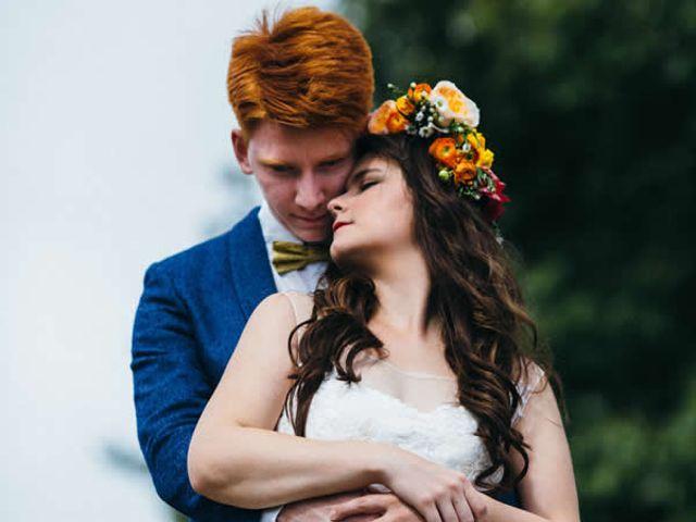 The wedding of Chris and Hanna