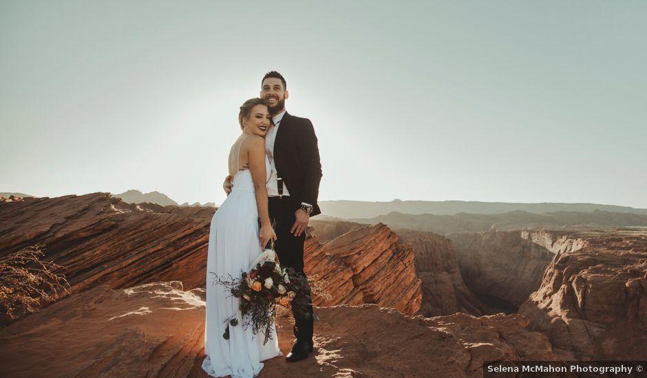 Robert and Jill's Wedding in Page, Arizona
