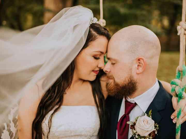 The wedding of Kalena and Josh