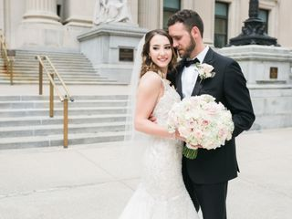 The wedding of Jillian and Mark
