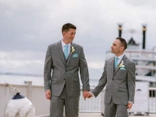 The wedding of Don and Peter