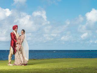 The wedding of Milvia and Sajit
