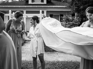 The wedding of Morgan and Matt 1