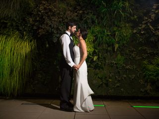 The wedding of Morgan and Matt
