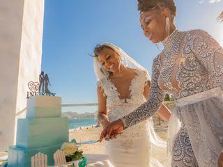 The wedding of Camelia and Tabatha 1