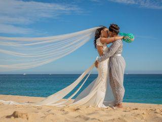 The wedding of Camelia and Tabatha