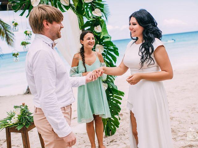 The wedding of Victoriya and Michail