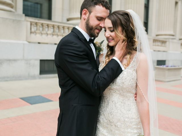 Mark and Jillian's Wedding in Indianapolis, Indiana 8