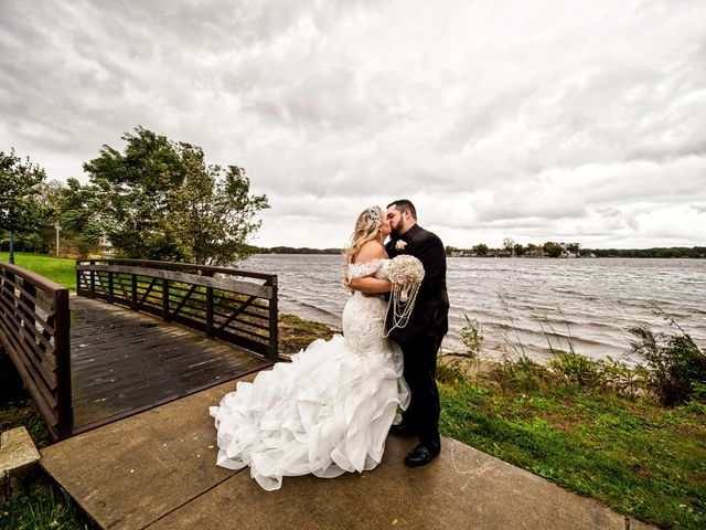 The wedding of Erika and Mitch