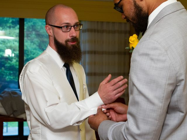 Alan and Amber's Wedding in Newark, Delaware 11