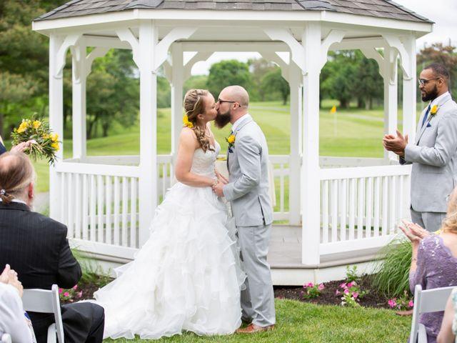 Alan and Amber's Wedding in Newark, Delaware 39