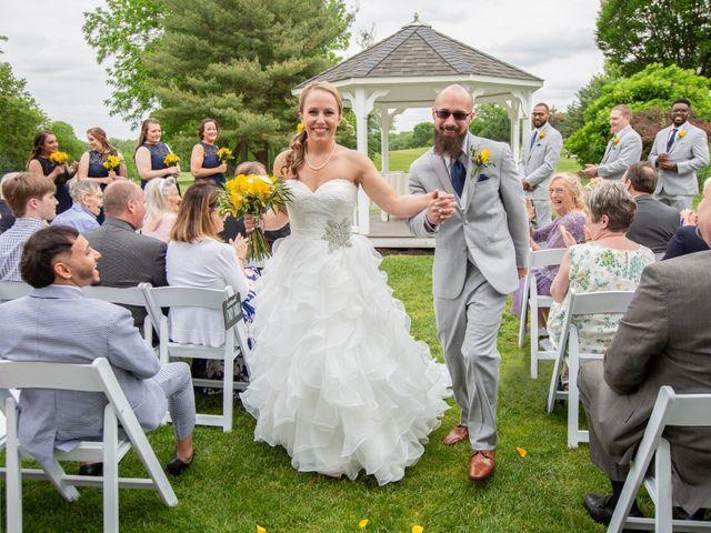 Alan and Amber's Wedding in Newark, Delaware 40