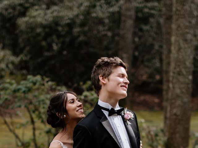 Brent and Diane's Wedding in Highlands, North Carolina 11