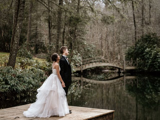 Brent and Diane's Wedding in Highlands, North Carolina 12