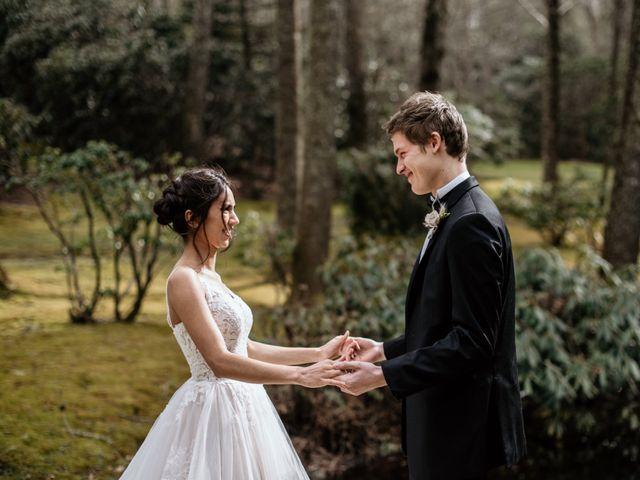 Brent and Diane's Wedding in Highlands, North Carolina 13