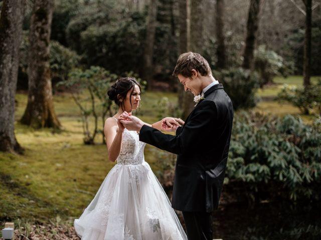 Brent and Diane's Wedding in Highlands, North Carolina 1
